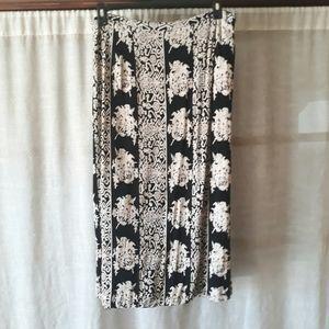 🥳 Host Pick! Vintage Hawaiian Tribal Print Skirt